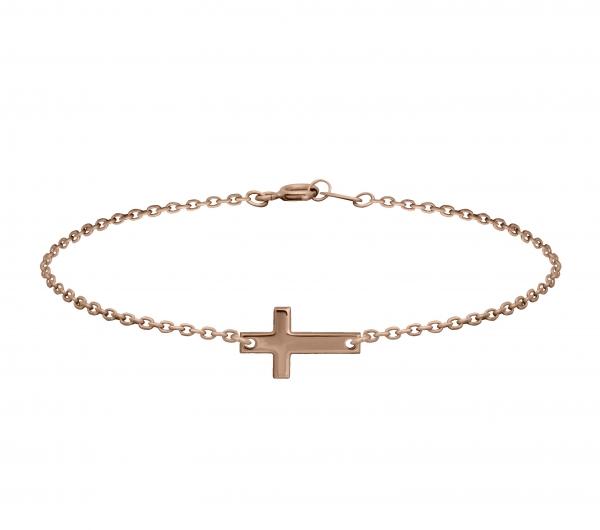 GRAV cross Arany 14K Karkötő