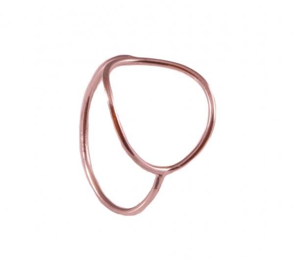 GRAV contour circle Arany 14K Gyűrű