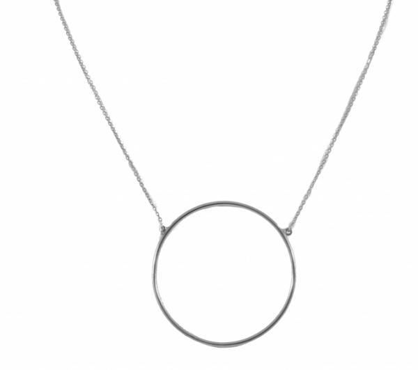 GRAV big circle Ezüst 925 Nyaklánc