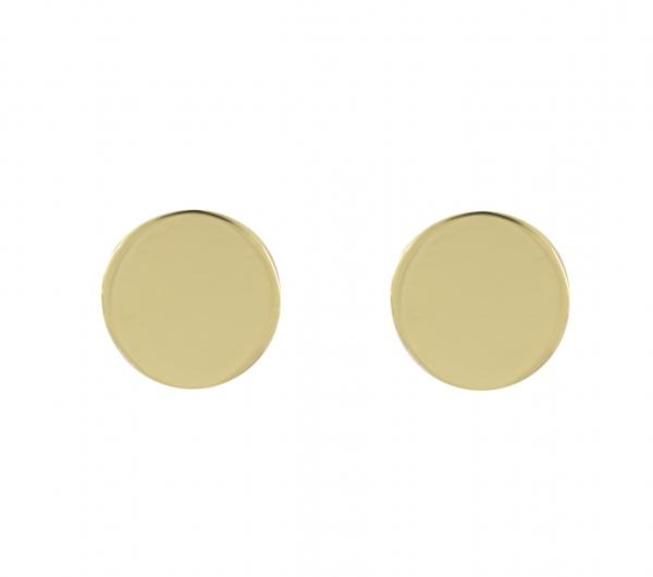 GRAV circle Arany 14K Fülbevaló