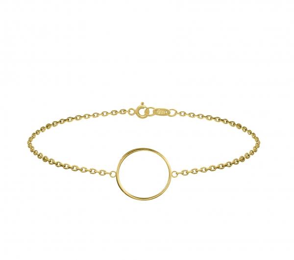 GRAV circle Arany 14K Karkötő