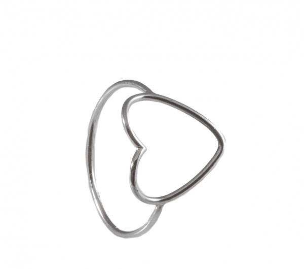 GRAV contour heart Arany 14K Gyűrű