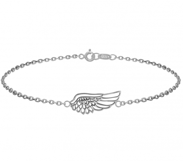 GRAV angel wing Ezüst 925 Bokalánc
