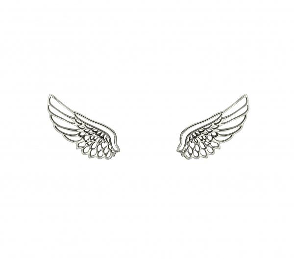 grav angel wing arany 14k fülbevaló
