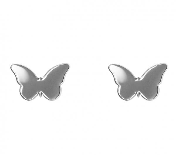 Grav Butterfly Ezüst Fülbevaló