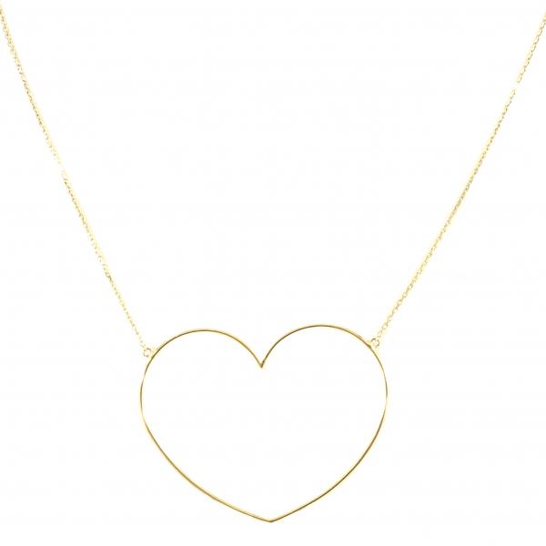 GRAV big heart Arany 14K Nyaklánc