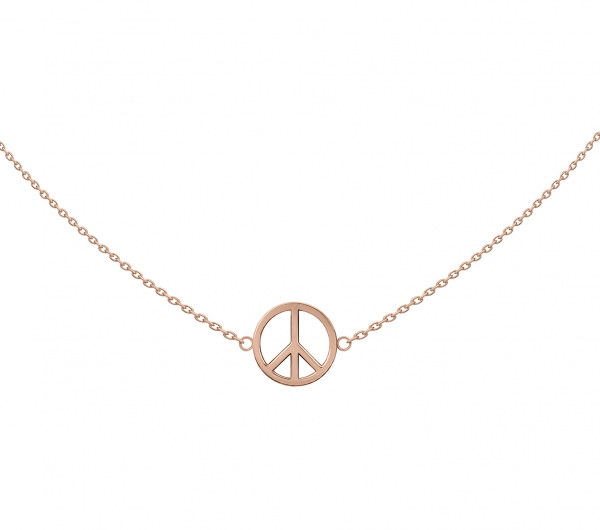 GRAV Peace Arany 14K Nyaklánc