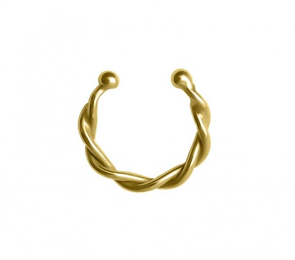 Grav Nolita Arany 14k Fülgyűrű