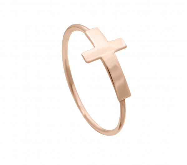 GRAV cross Arany 14K Gyűrű