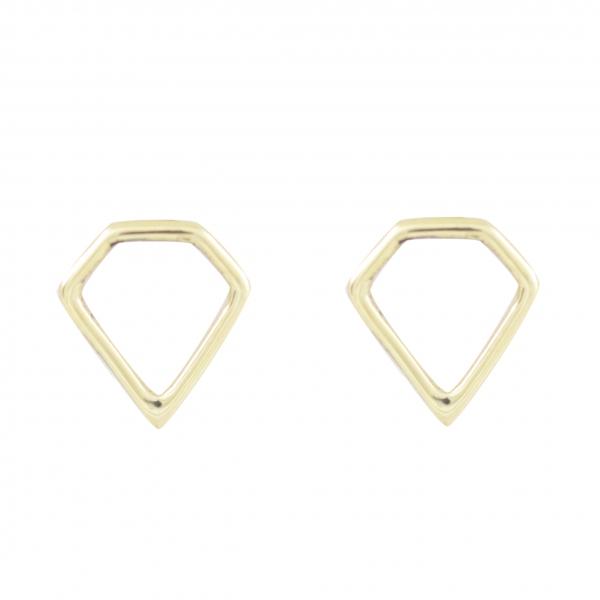 GRAV diamond Arany 14K Fülbevaló
