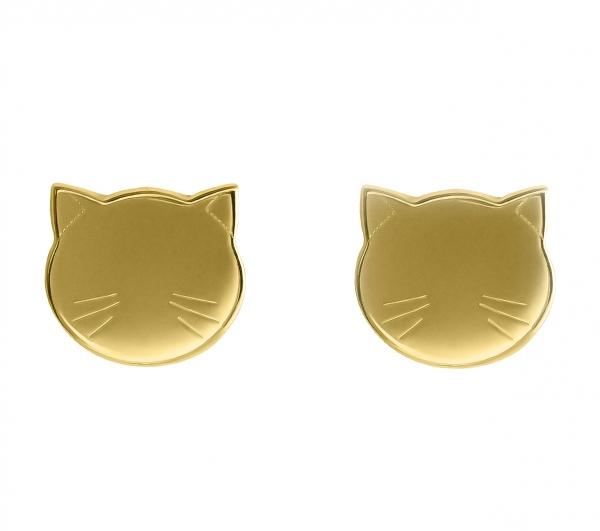 Grav Cat Arany 14k Fülbevaló